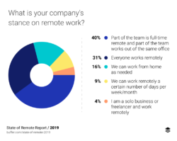 there are different approaches to remote work
